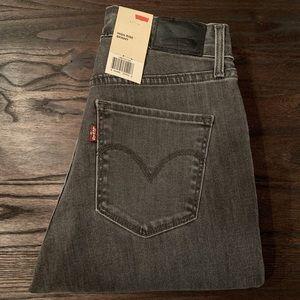 Levi's high waisted skinny jeans NWT